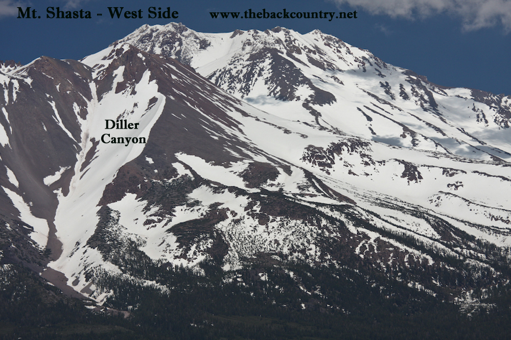 Mt.-Shasta-Backcountry-Skiing-Diller-Canyon