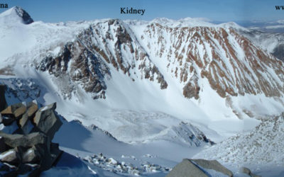 Coke Chute to Kidney Couloir – Dana Plateau